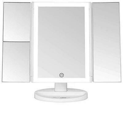 Absolutely Lush Lighted Makeup Vanity Mirror with Lights Touch Screen Dimming