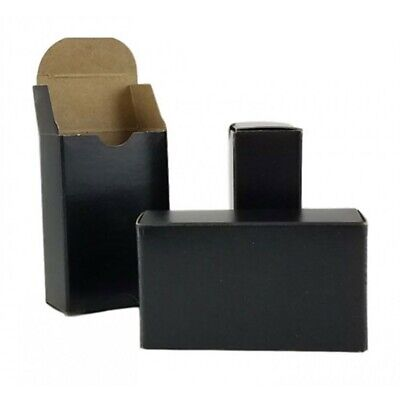 75x Kraft Black Soap Boxes for your soap (unbranded) - No Window Soap Box