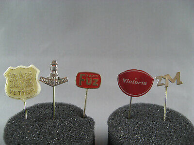 5 Assorted Tractor Related Vintage Pins - 1960's #16