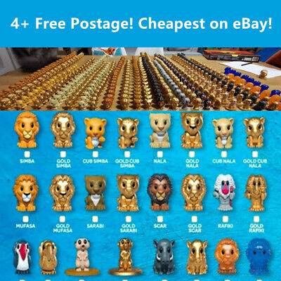 Woolworths The Lion King Ooshies - Disney Lion King Toy -  FREE Post 4+Items
