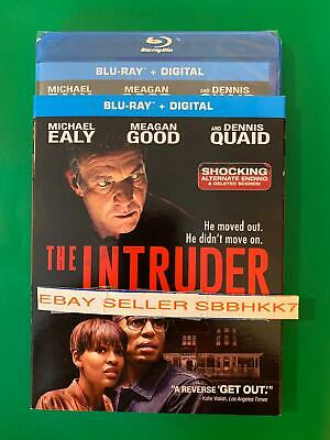 The Intruder Blu Ray + Digital HD & Slipcover Brand New Free Shipping W/Tracking