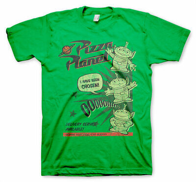 Pizza Planet T-shirt pizza delivery Halloween costume Shirts Adult Kids sizes