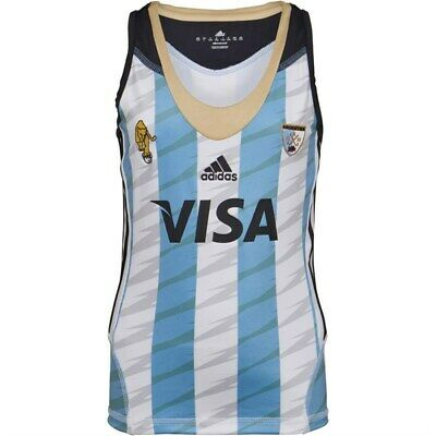 ADIDAS JUNIOR  OFFICIAL ARGENTINA JERSEY VEST SIZE : 12yrs  BNWT