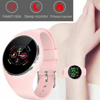 Bluetooth Donne DK01 Smartwatch Fitness Frequenza cardiaca per Android IOS HTC