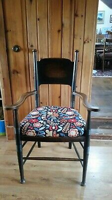 William Birch For Liberty Arts And Crafts Carver Chair Antique
