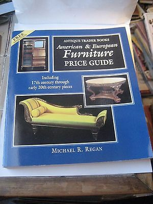 American & European Furniture Reference Book By Michael R. Reagan