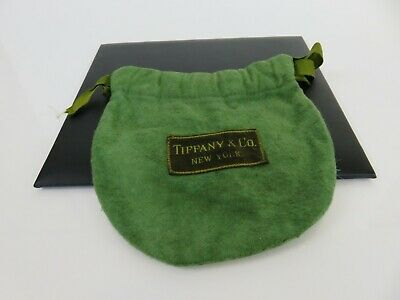 Tiffany & Co 19th Century Anti Tarnish Drawstring Pouch Bag for Sterling Silver