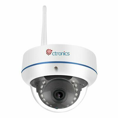 CTRONICS DOME CAMERA Wireless IP Camera WIFI Security Cam Hd
