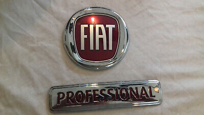 fiat ducato professional rear door badges new  *please read description*off 2019