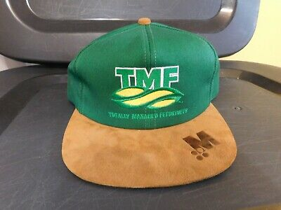 1114f6baf IMTD I'M TOTALLY Different Snapback Hat Cap Navy Brown - $9.98 ...