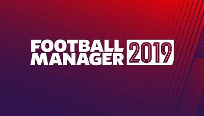 Football Manager 2019 Full Game! Steam Account For Pc/Mac
