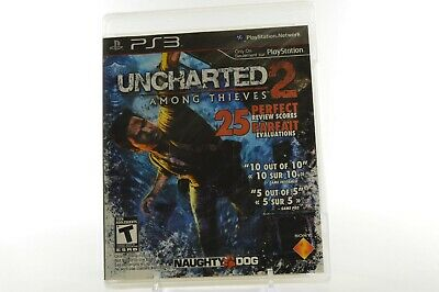 Playstation 3 PS3 - Uncharted 2, Among Thieves *NEW* Unopened