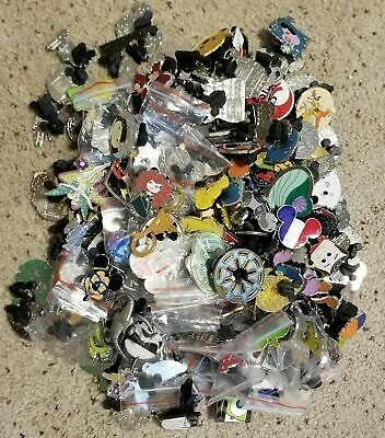 Disney Trading Pins Lot of 25 No Duplicates-LE-HM-Rack-Cast-Free Shipping