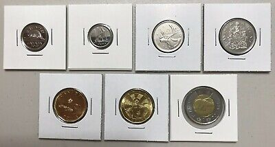 CANADA 2019 New Complete circulation set + Half-Dollar (UNC from mint roll)