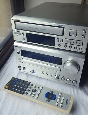 Onkyo CD / DAB Receiver CR-515DAB & Onkyo K-505TX Cassette / Tape Deck - Superb!