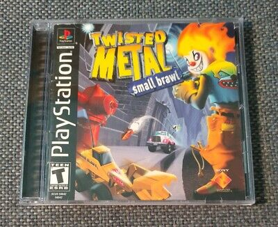 Twisted Metal Small Brawl PlayStation 1 PS1 PS2 PS3 Complete!