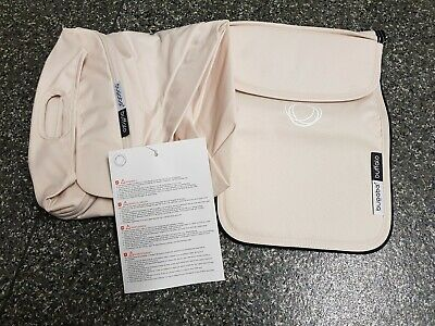 BRAND NEW IN BOX Bugaboo Buffalo Off White Extendable Hood and Apron set 002