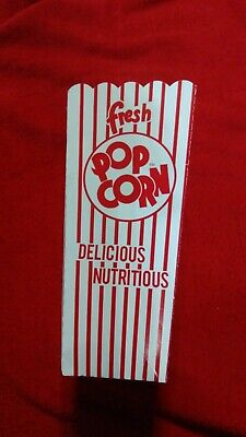 450 count 1.25 oz 47e popcorn scoop popcorn box great for concessions / theaters