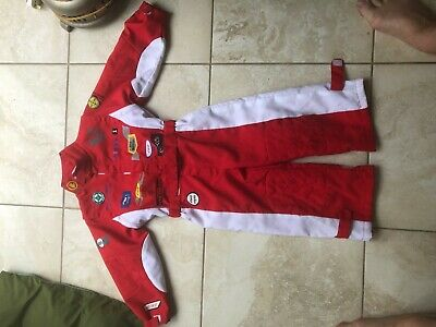 Genuine Paddy Hopkirk signed/autographed kids race/mechanics overalls
