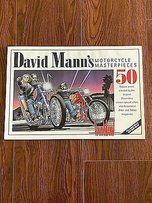 David Mann's Motorcycle Masterpieces - 2004 Limited Edition #4541 of 10,000