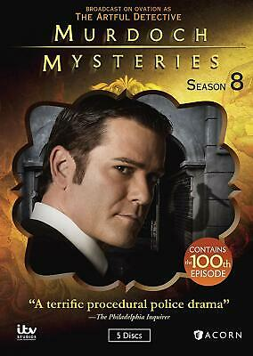 Murdoch Mysteries: Season 8 - New Sealed - Free Shipping