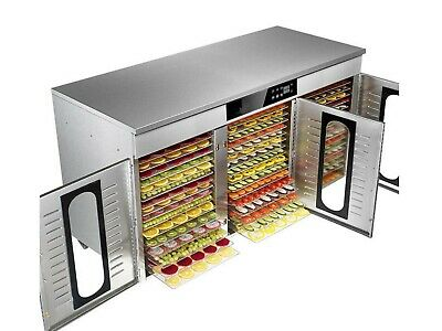 Bench Foods 48-CUD | 3-Zone Commercial Food Dehydrator | 48 Tray - 7.7 m²