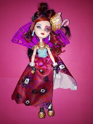 Ever After High Lizzie Hearts Doll Way too Wonderland