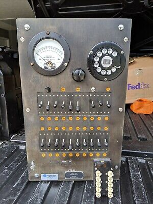Antique Vintage Local Test Cabinet No. 3 J94709B Western Electric Southern Bell