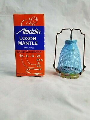 ALADDIN  R-150  LOX-ON  OIL  LAMP  MANTLE  MADE  IN  BRAZIL  with THORIUM