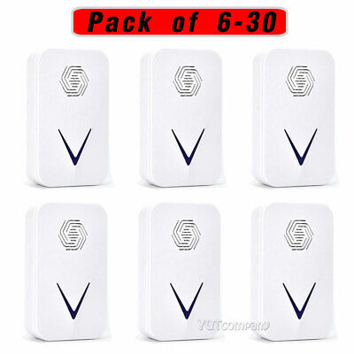 Pest Reject Pro Electronic Ultrasonic Rat Mice Repeller Home Defender Roaches