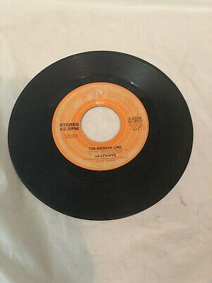 "Heatwave - Happiness Togetherness / The Groove Line -  7"" Vinyl 45 Rpm"