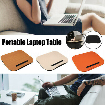 Portable  Laptop Lap Computer Table Knee Desk Office Home Pillow Stand w/handle