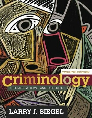 P D F | Criminology: Theories, Patterns, and Typologies (12th Edition)  P D F