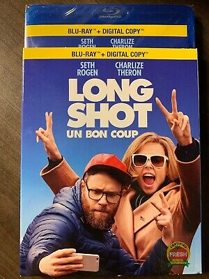 NEW Long Shot Blu-Ray & Digital Copy w Slipcover Canada Bilingual SEALED