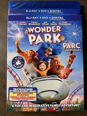 NEW Wonder Park 2019 Blu-Ray & DVD w Slipcover Canada Bilingual SEALED