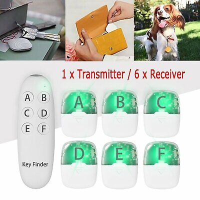 6 in1 Remote Wireless Schlüsselfinder Anti-Lost Alarm Pet Wallet Tracker Locator