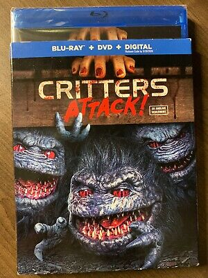 Critters Attack Blu-Ray & DVD w Slipcover Canada Bilingual NO DC LOOK