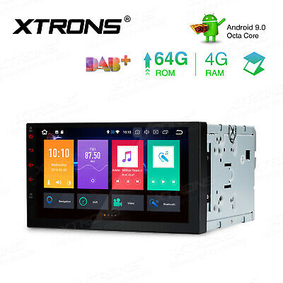 """Xtrons 7"""" Android 8.0 2 Din Car Stereo 8-Core Radio GPS DAB+Wifi 4G 4+32GB +DVR"""