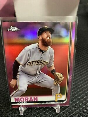 Pittsburgh Pirates Colin Moran 2019 Topps Chrome #65 PINK REFRACTOR