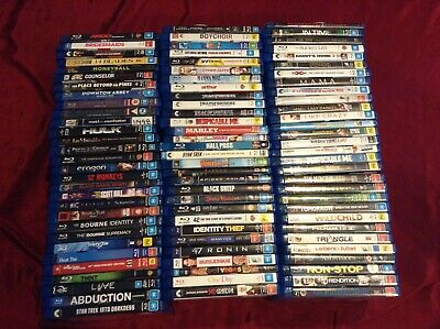 Blu Ray Movies- $6 Each- Free Post- Pick Your Titles ***READ DESCRIPTION