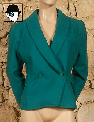 'COURREGES - PARIS' 70s  JACKET - UK 12 -  (Z)