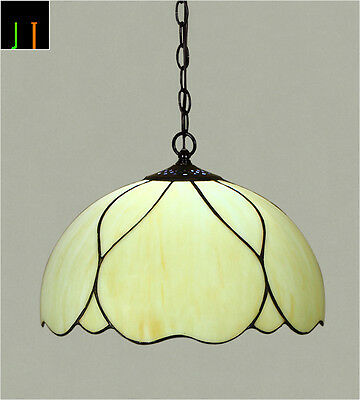 Winter Clearance 16'' Elegant Tiffany Style Art Stained Glass Pendant Light