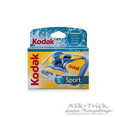 Kodak Waterproof Sport SINGLE USE Camera with 27 Exposures DATED 10//19