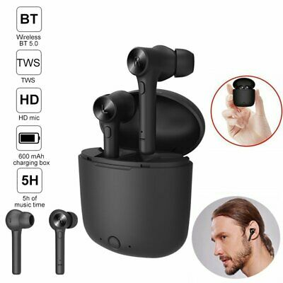 Tws Mini Earbuds Wireless Bluetooth 5.0 Earphone Headphones for Android Samsung