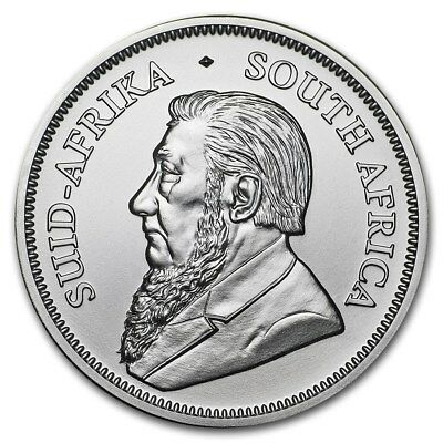 2018 Silver Krugerrand 1oz BU 999 Pure Bullion Coin from South African Mint #594
