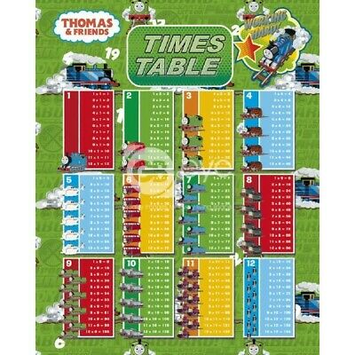 Thomas and Friends - Times Tables - Mini Poster #1MR