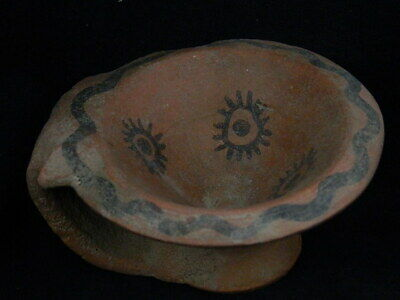 Ancient Large Size Teracotta Painted Pot With Serpent Indus Valley 2500 BC PT448