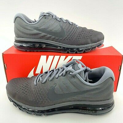 NIKE AIR MAX 2017 Mens Sneaker Cool Grey Anthracite Running