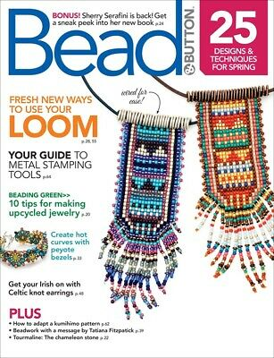 Bead and Button Magazine Various Issues
