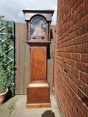 "Oak Longcase Clock Case 12""x17"" Dial"